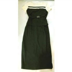 Jones New York Dress Size 10 Classic Feminine Belt